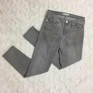 Rock & Republic Gray Skinny Jeans Sz 10 M